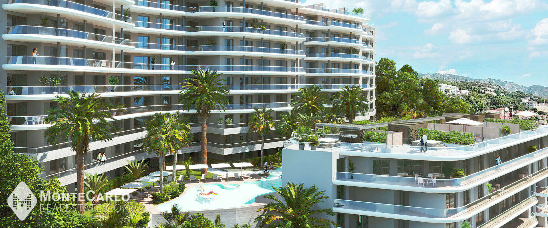 For sale Beausoleil - Apartment / 2 rooms : 585 000 €   Monte-Carlo Real Estate [2230620]
