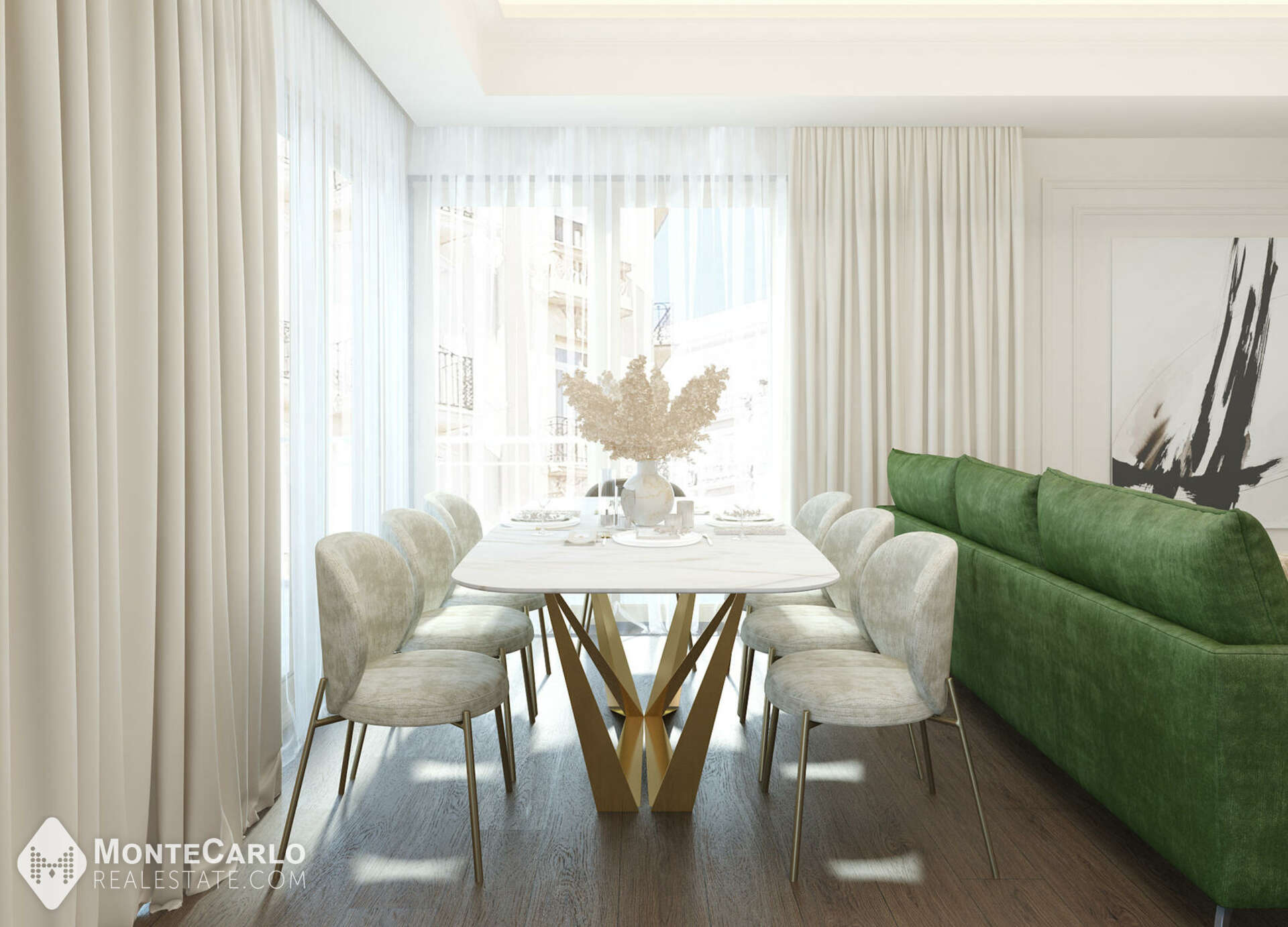 For sale Roqueville - Apartment / 4 rooms : 4 950 000 €   Monte-Carlo Real Estate [ROQ1]