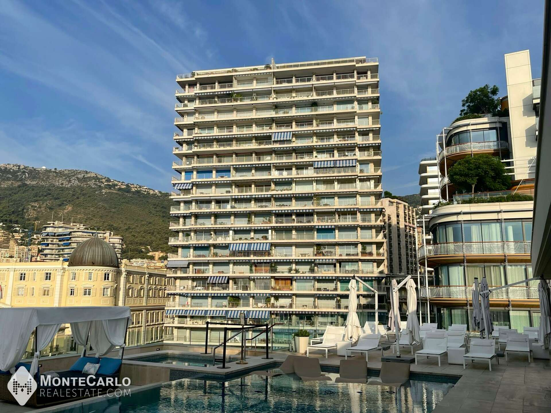 Location Sun Tower - Appartement / 2 pièces : 11 500 €   Monte-Carlo Real Estate [RD_Sun Tower_2P]