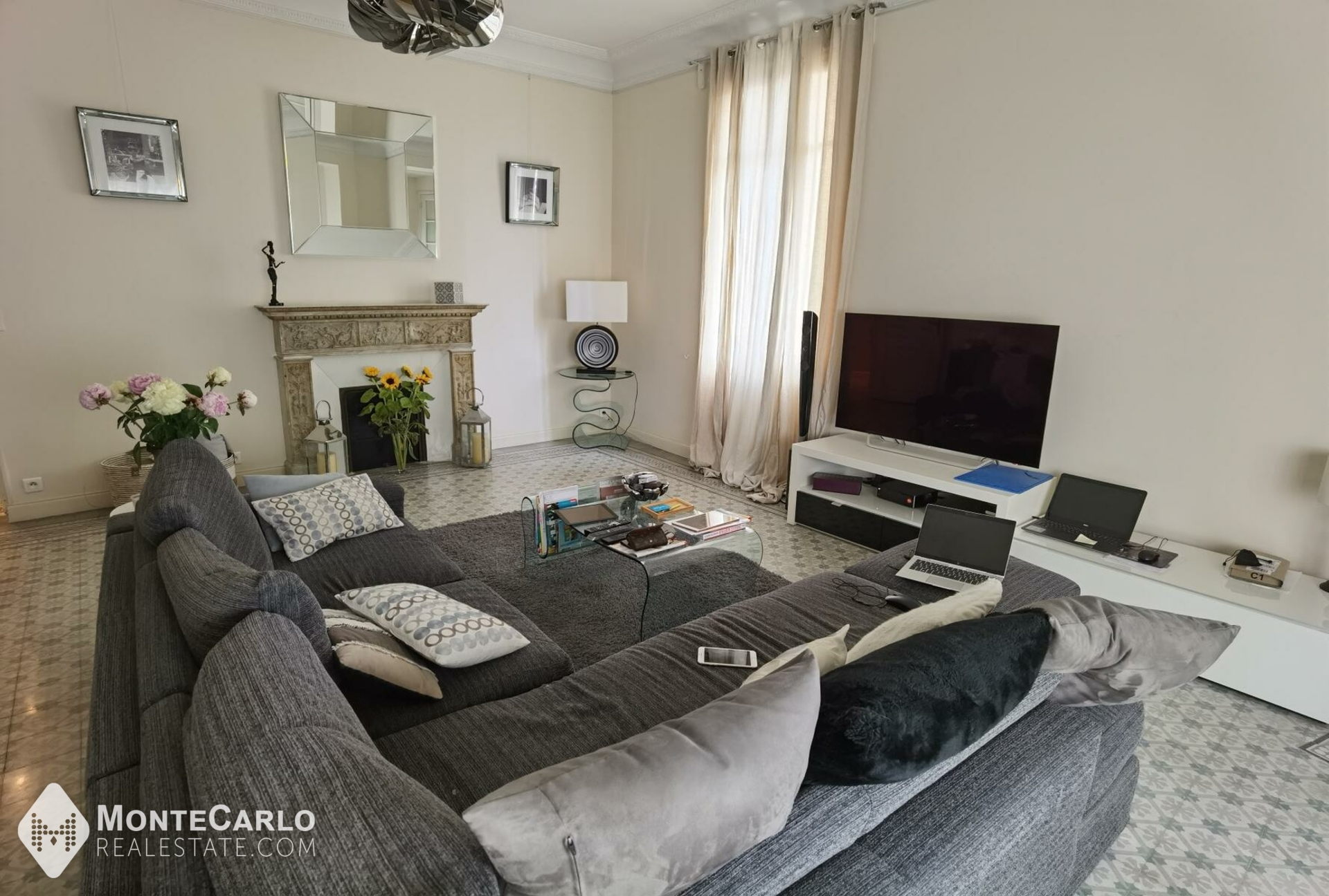Location Franzido Palace - Appartement / 5 pièces : 8 500 € | Monte-Carlo Real Estate [2344]