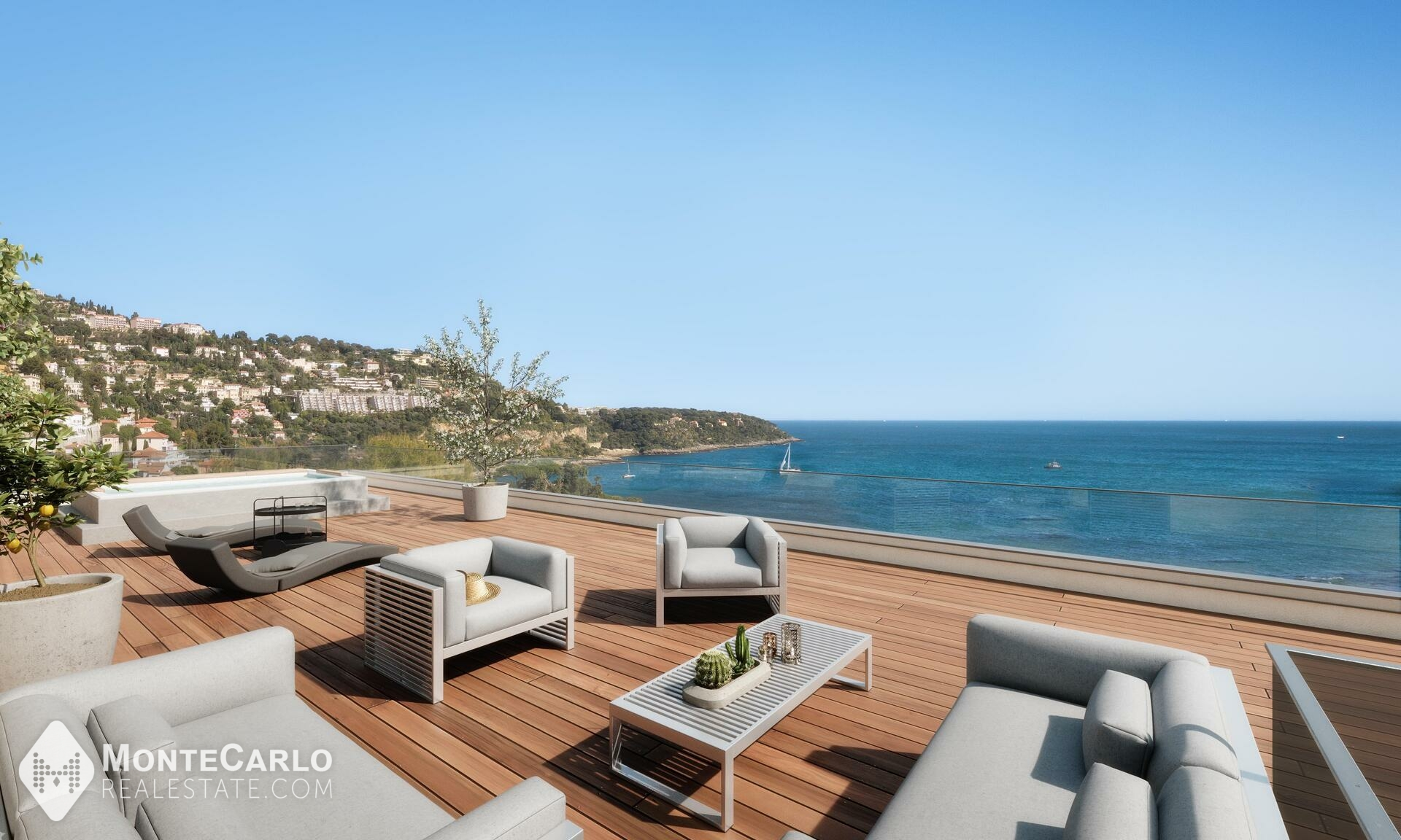 For sale Roquebrune-Cap-Martin - Penthouse/Roof / +5 rooms : 6 700 000 €   Monte-Carlo Real Estate [VF0920-86]